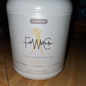 Fit with Cambrie vanilla vegan lean body